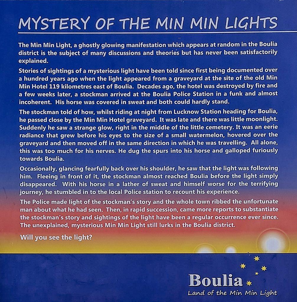 Min Min Lights Explanation